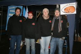 NRH-Mitglieder beim TH-Stand